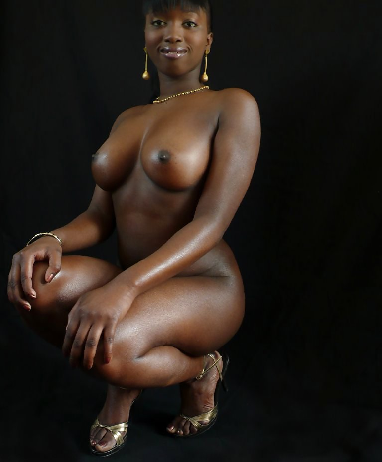 Nude outdoors goddesses african